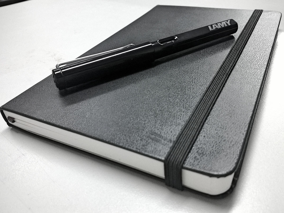 sketch-book-and-pen