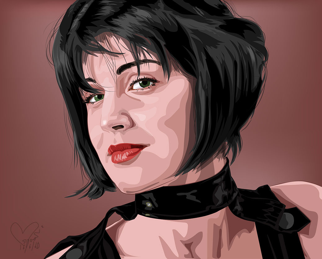 Illustration-Portrait-Vector-from-Illustrator-Program