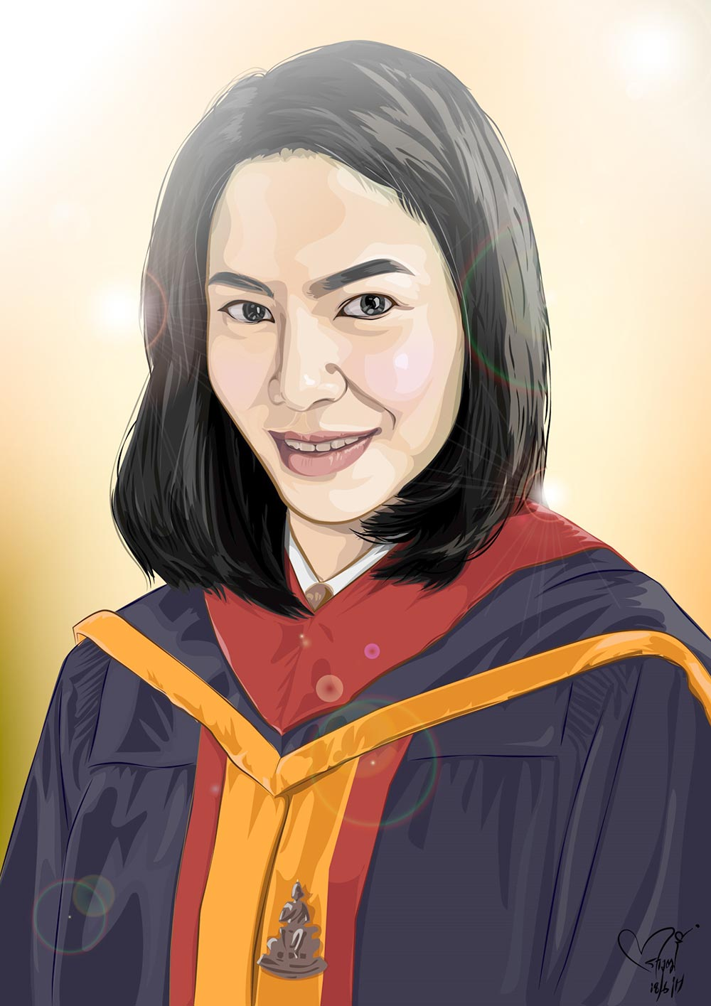 Woman-Vector-Portrait-Ramkamhang