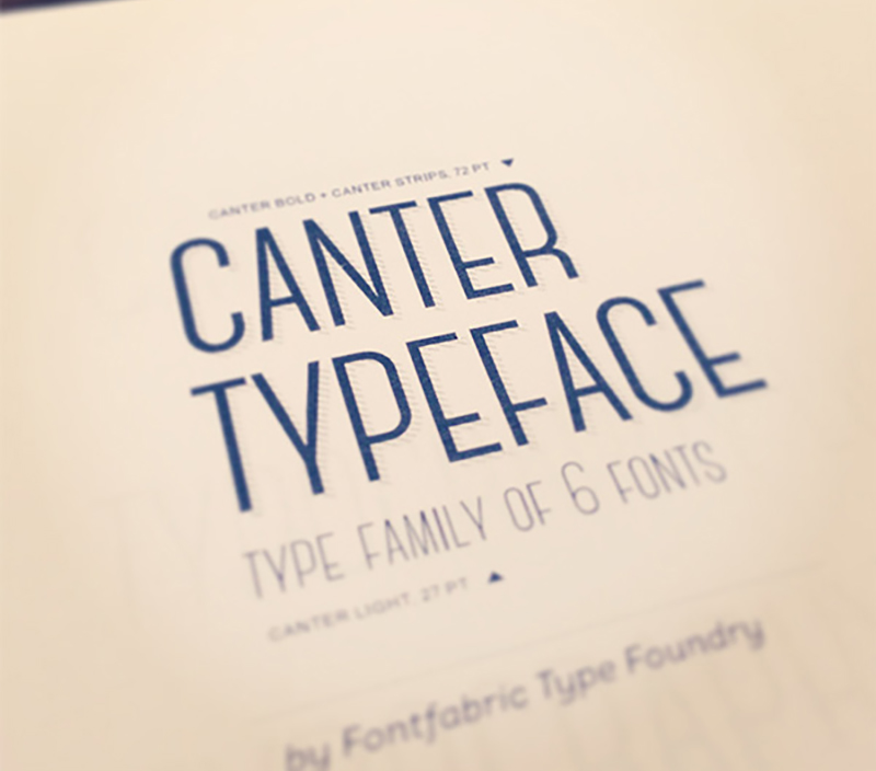 Canter free fonts download