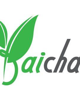 """ผลงานออกแบบโลโก้ """"ใบชา"""" (BaiCha)"""